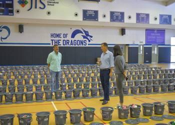 JIS and Artha Graha Peduli Distributed 1,000 Home Sanitation Kits to Surrounding Families