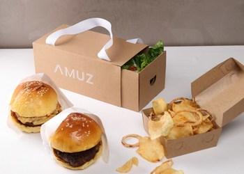 OUI, The Delivery Premium Burger a la Chef Gilles Marx Presented by AMUZ Gourmet