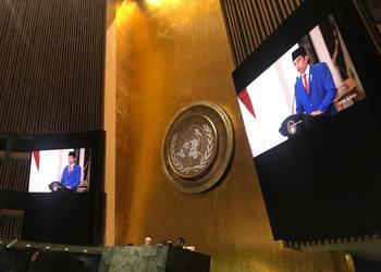 President Joko Widodo at the UN General Assembly Address: No Country Should be Left Behind