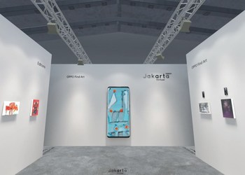 Log in to the 3D Exhibition of OPPO Art Jakarta Virtual 2020