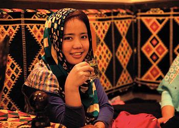 Meeting A Young Hazara Artist In Jakarta