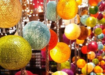 Light Craft:Unconventional Rattan Christmas Trees & Christmas Ball Lights