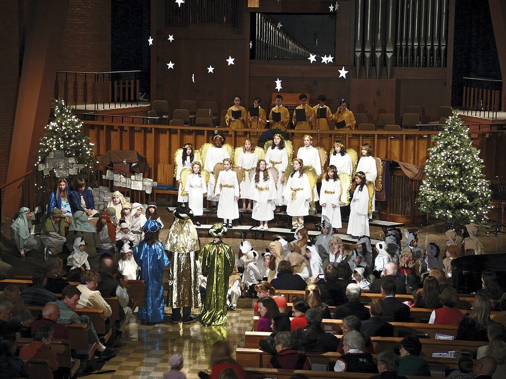 Christmas Services at All Saints Anglican Church Jakarta (1)