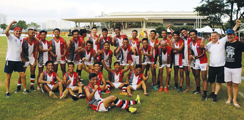 Indonesia Garudas Win AFL All-Asian Cup (2)