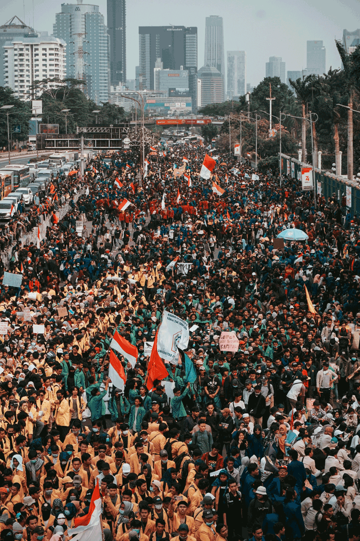 Student Protests in Jakarta