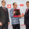 the Swiss-Indonesian Chamber of Commerce Amis to Enhance Relationship with Business Players