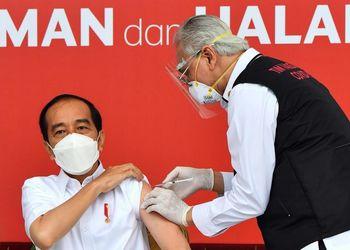 President Joko Widodo Receives Covid-19 Vaccination