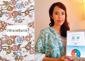 iWareBatik Combines Modern Technology with Indonesian Tradition