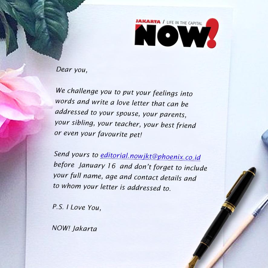 Now jakarta love letter challenge jakarta love letter challenge expocarfo Image collections