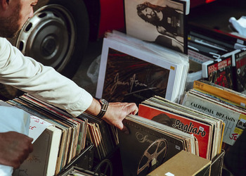 Hunting for Vinyl Records in Jakarta