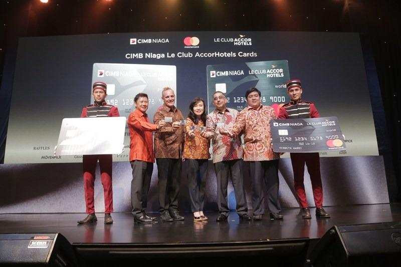 Cimb Niaga Accorhotels And Mastercard Launch Now Jakarta