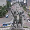 Who Do Tugu Selamat Datang, Patung Dirgantara, and Monumen Pembebasan Irian Jaya Have in Common?
