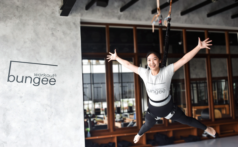 Bungee Workout: Light as a Feather