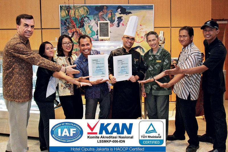 Haccp Certified Hotel Ciputra Jakarta Offers Delivery Now Jakarta