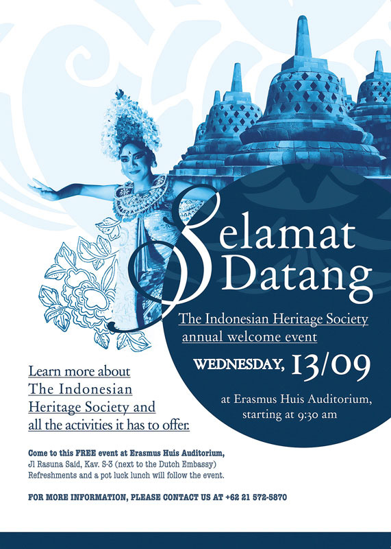 The Indonesian Heritage Society Annual Welcome Event