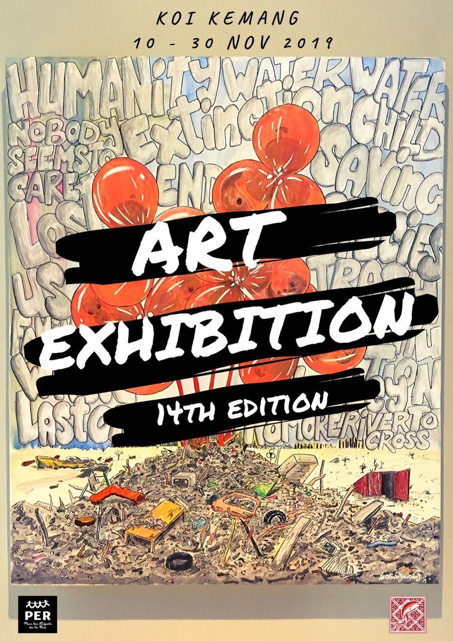 Charity Art Exhibition By Pour Les Enfants De La Rue Now Jakarta
