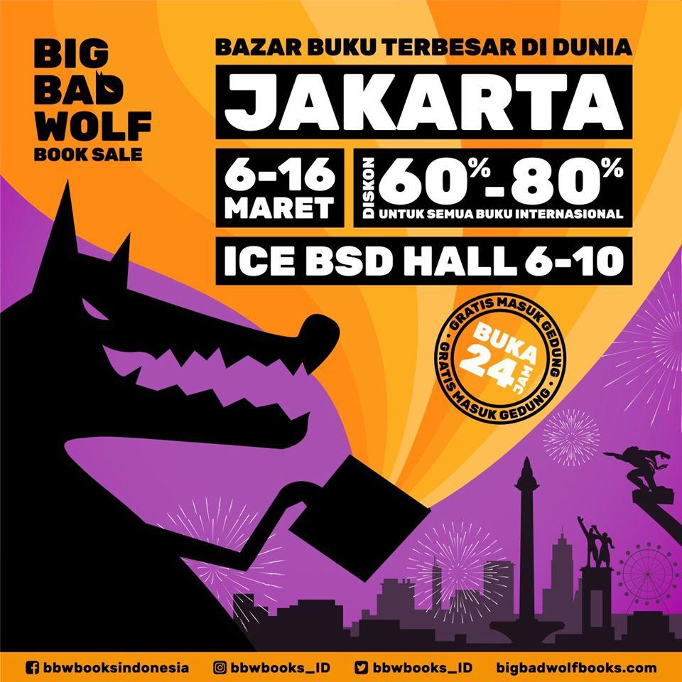 Big Bad Wolf Book Sale Jakarta 2020 Now Jakarta