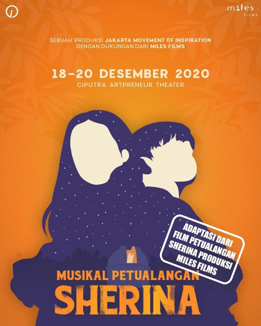 Musikal Petualangan Sherina Now Jakarta