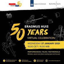 Erasmus Huis 50th Anniversary Celebration