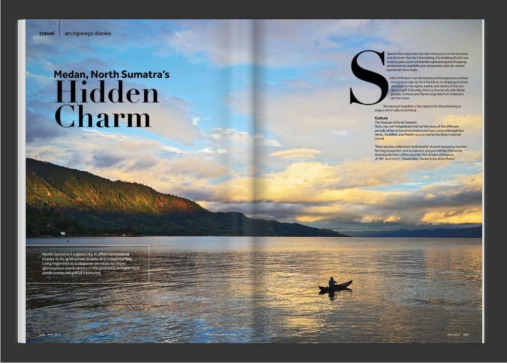 now jakarta magazine issue  may 2019 TRAVEL: NORTH SUMATRA
